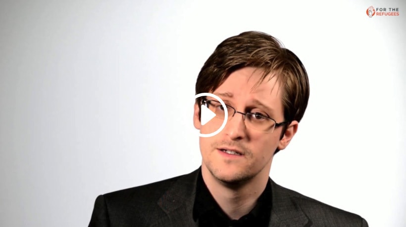 A Message From Edward Snowden