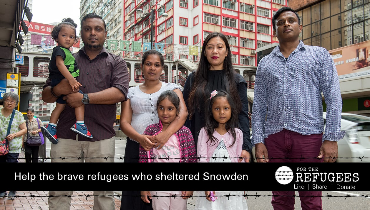 Lawyers for Edward Snowden's guardian angels will make announcements in Hong Kong