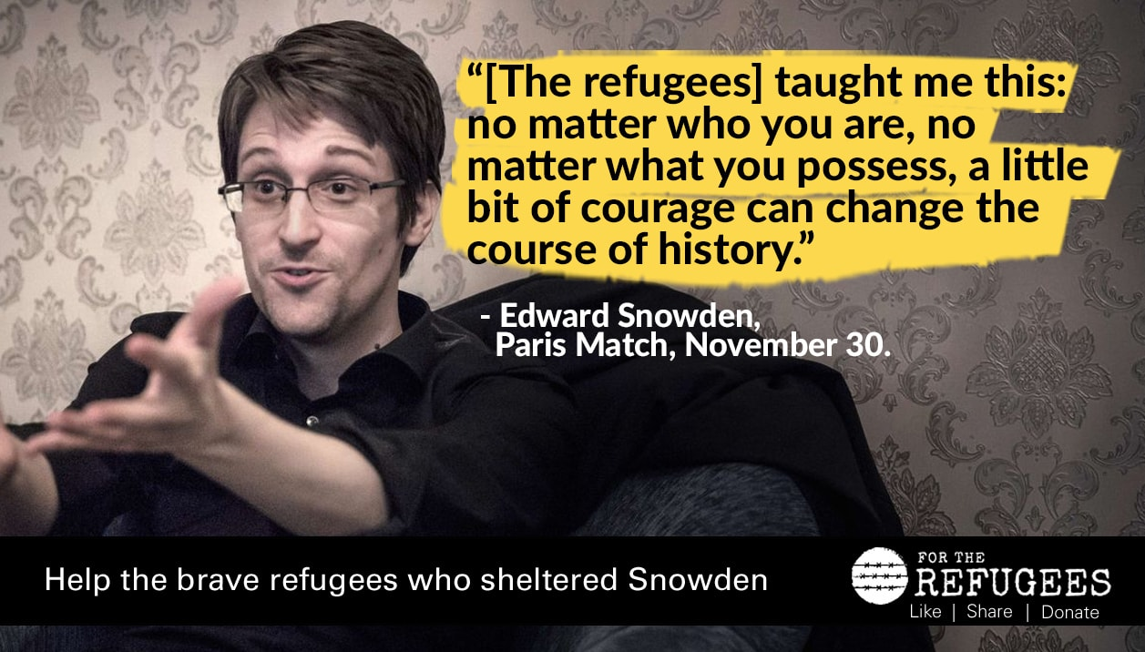 An update on the Snowden refugees