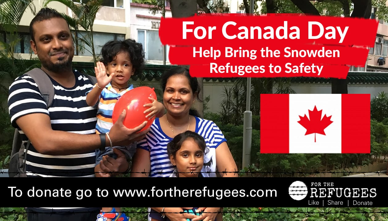 Happy Canada Day from the Snowden refugees!